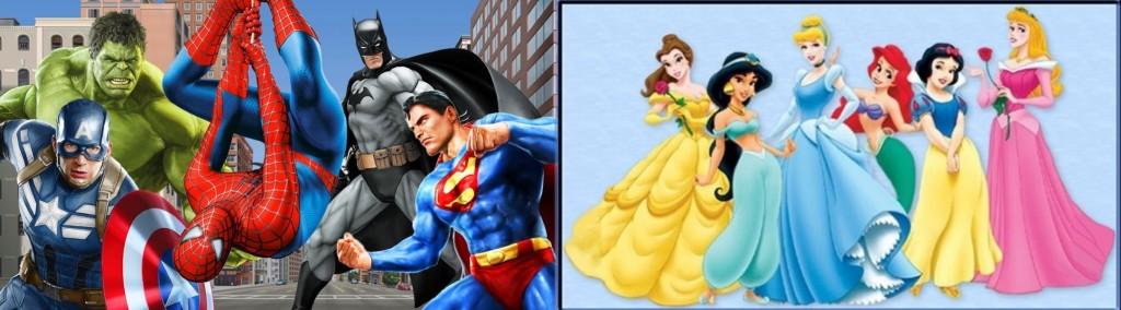 supereroi diney